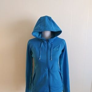 The North Face zip up hoodie sweater EUC